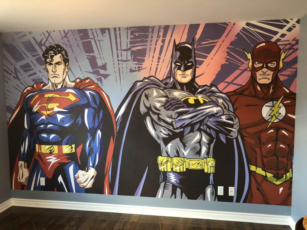 photo-murale-superheros_mur-o-tech